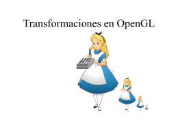 Transformaciones en OpenGL