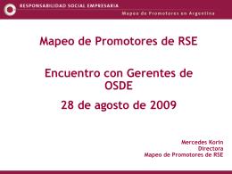 ¿Promotor de RSE? - Rumbo Sostenible