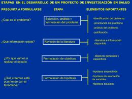ETAPAS PROYECTOS UDD 070214