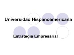 Estr. Empresarial