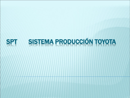SPT Sistema Producción Toyota