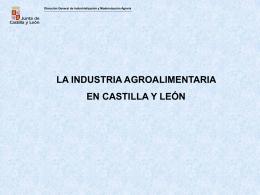 La industria agroalimentaria en Castilla y León (533 kbytes)