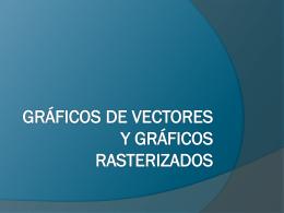 Herramientas de gráficos de vectores y procesamiento de imágenes