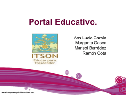 Portal Educativo maggie