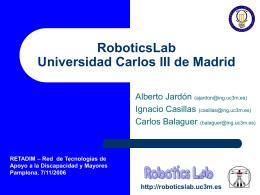 Retadim1 - Asociación de Robótica UC3M