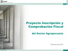 Comprobación Fiscal para el Sector Primario