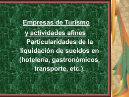 Turismo Gastronomicos