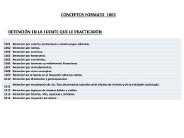 4. Conceptos formato 1003