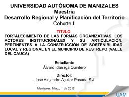 Diapositiva 1 - Universidad Autónoma de Manizales