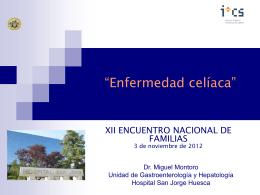 Presentación Doctor Miguel Montoro