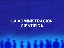 TEORIA CIENTIFICA - lic.administración.usmp