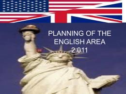 2011 English Planning
