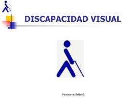 DISCAPACIDAD VISUAL - TICS-UCSH