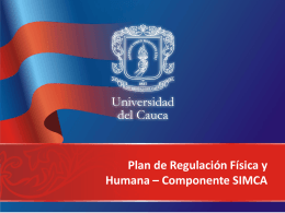 Procesos - Universidad del Cauca