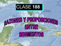 Clase 188: Razones y Proporciones entre Segmentos