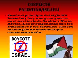Conflicto Palestino/Israelì
