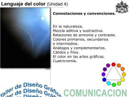 Lenguaje del color