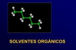 solventes orgánicos - Higiene Ocupacional