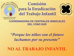 Comisión para la Erradicación del Trabajo Infantil