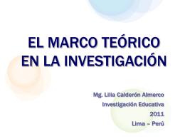 MARCO TEÓRICO - Investiga-aprende-2