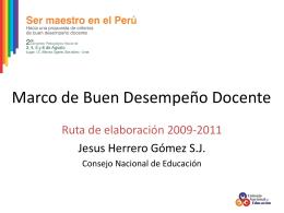 Jesús Herrero Gómez - Consejo Nacional de Educación