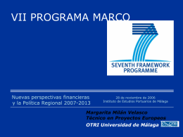 presentacion vii programa marco