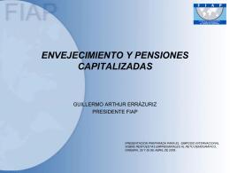 Bajar presentación Power Point - (FIAP) Federación Internacional