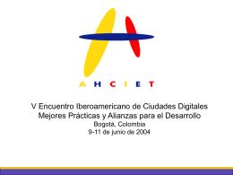 Iberoamérica y la Sociedad de la Información
