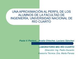 Archivo - UNRC - Facultad de Ingeniería