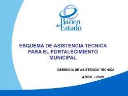 PRESENTACION ESQUEMA DE ASISTENCIA TECNICA