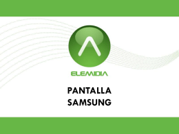 Pantalla LED  - Elemidia l IntraNet