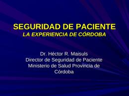 Presentación Academia Nacional de Medicina