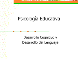 Psicología Educativa PSIC 3036