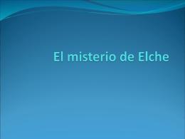 El misterio de Elche