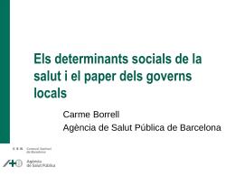 Borrell - Desigualtats dels municipis 2010