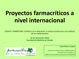 Estudiantes - Farmacriticxs - IFMSA