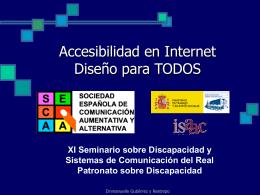 Internet Accesible. Diseño para Todos.
