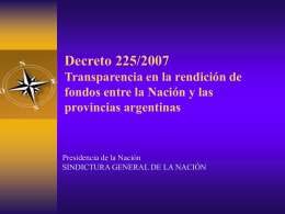 Decreto 225/2007