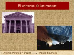 El universo de los museos