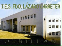 instalación y mantenimiento - IES Fernando Lázaro Carreter