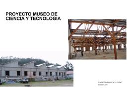 proyecto museo de ciencia y tecnología