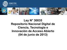 Diapositiva 1 - Acceso Abierto