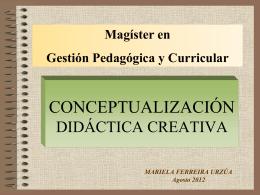 La didáctica - Sociedad & Conocimiento