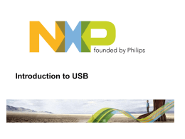 Introduction to USB