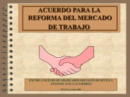 MEDIDAS PARA POTENCIAR LAS POLÍTICAS ACTIVAS Y LOS