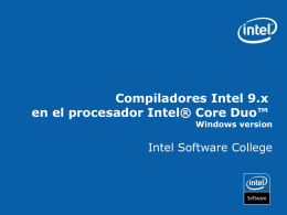 Intel ® Core™ Duo - Academia Multicore