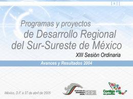 Presentacion del Lic. Antonio Sánchez Díaz de Rivera, Subsecretario