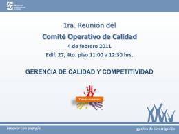 Diapositiva 1 - SECOD - Instituto de Investigaciones Eléctricas