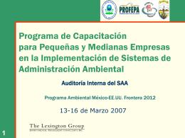 Auditoría Interna del SAA