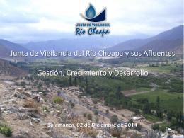 Diapositiva 1 - Junta Vigilancia Río Choapa